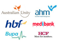 australian health fund rebates