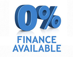 interest free finance available